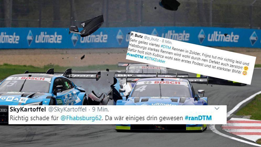 Die Netzreaktionen zum Rennen in Zolder. - Bildquelle: imago