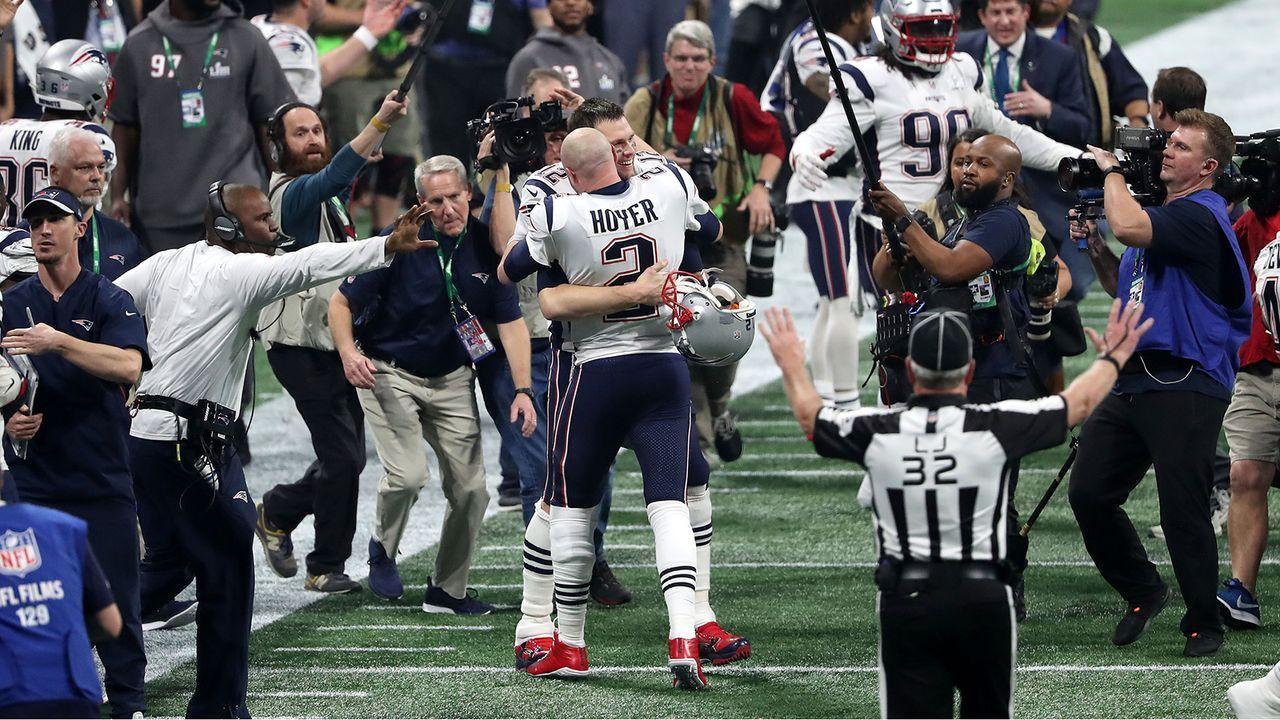 Erster Titel für zwei Dutzend Patriots  - Bildquelle: Getty Images