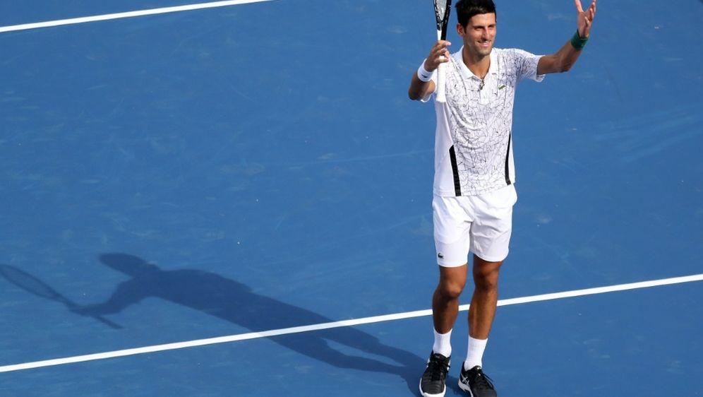 Novak Djokovic steht im Finale von Cincinnati - Bildquelle: GETTY AFPSIDRob Carr