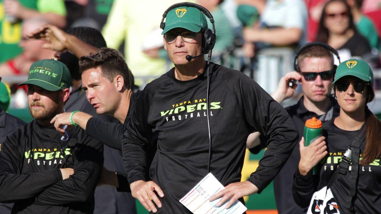Gewinner: Marc Trestman (Head Coach der Tampa Bay Vipers) - Bildquelle: imago images/ZUMA Press