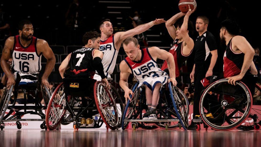 Rollstuhl-Basketball soll in Paris gespielt werden - Bildquelle: AFPSIDYASUYOSHI CHIBA