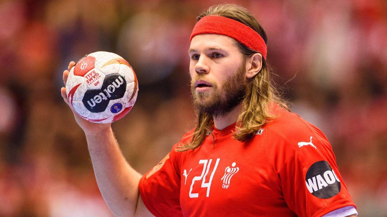 Top-Star von Dänemark: Mikkel Hansen - Bildquelle: imago/Bildbyran
