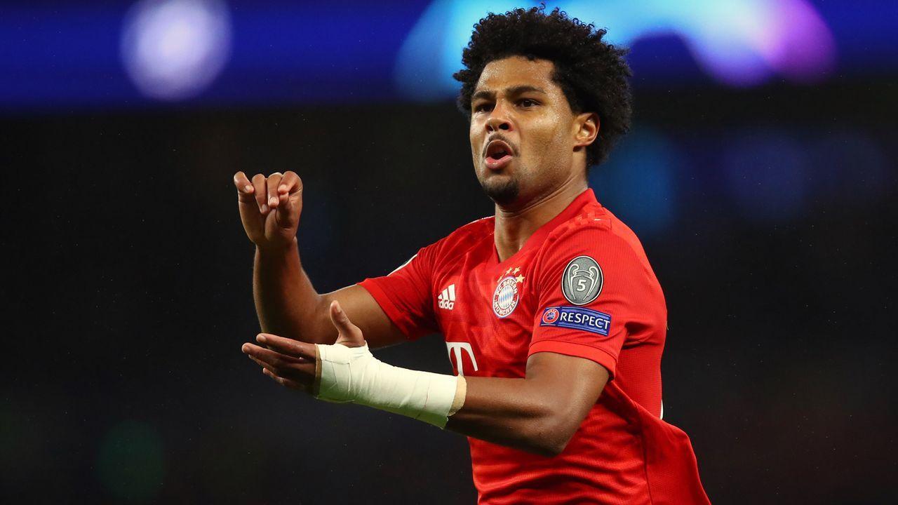 Serge Gnabry (Bayern München) - Bildquelle: 2019 Getty Images