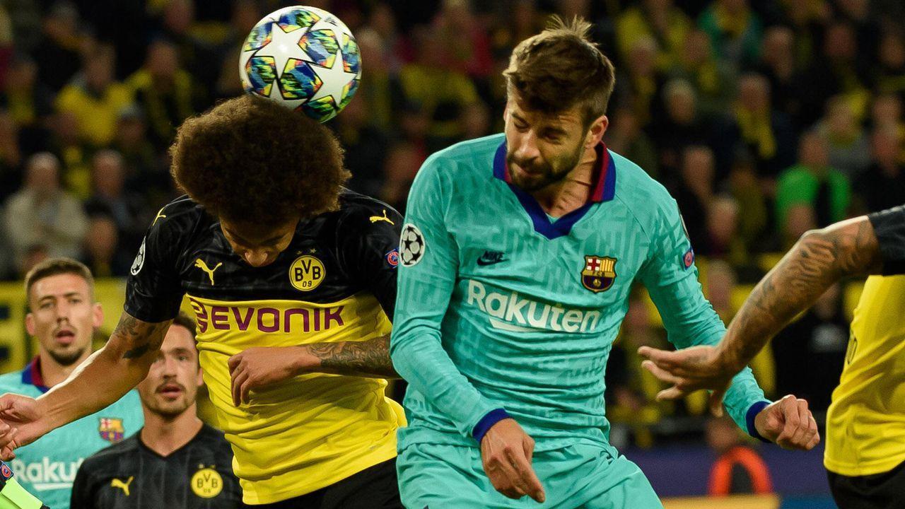 Gerard Pique (FC Barcelona) - Bildquelle: imago