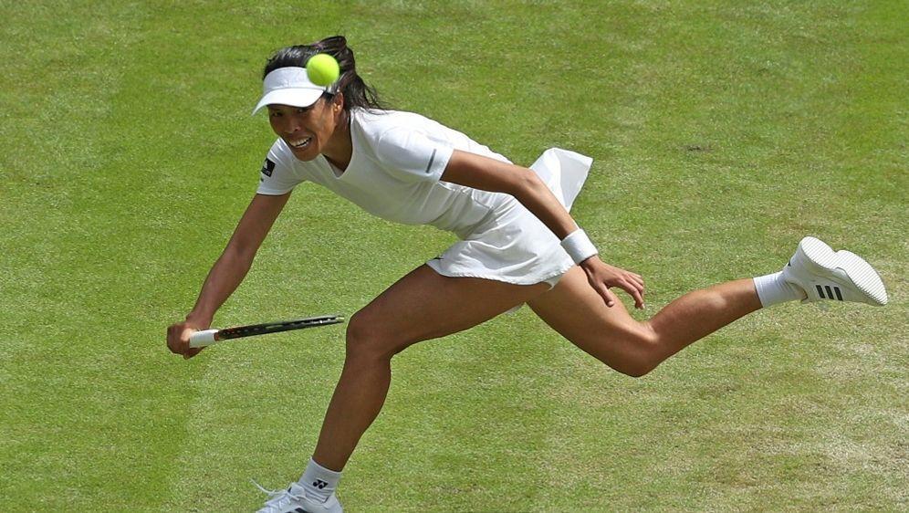 Hsieh siegte mit Partnerin Strycova im Damendoppel - Bildquelle: PIXATHLONPIXATHLONSID