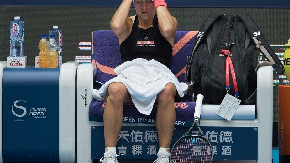 Kerber ist beim Turnier in Zhengzhou ausgeschieden - Bildquelle: AFPSIDNICOLAS ASFOURI