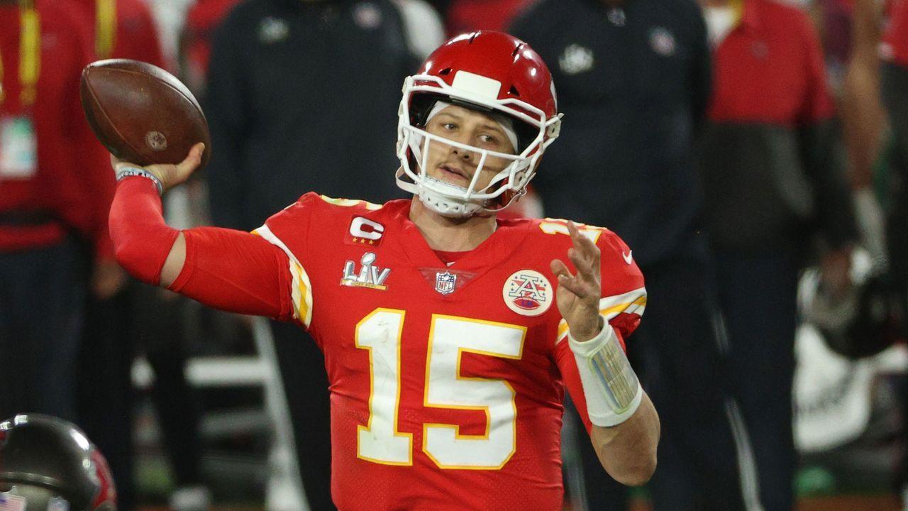 Platz 1: Patrick Mahomes (Kansas City Chiefs) - Bildquelle: 2021 Getty Images