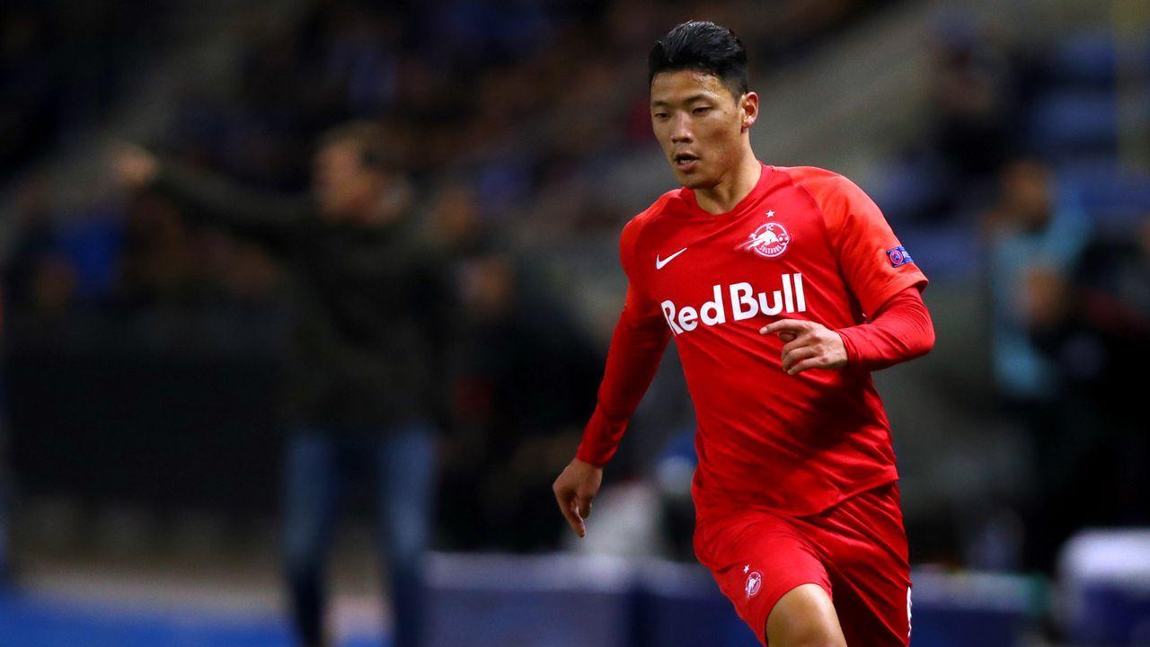 Hee-Chan Hwang (RB Salzburg) - Bildquelle: Getty