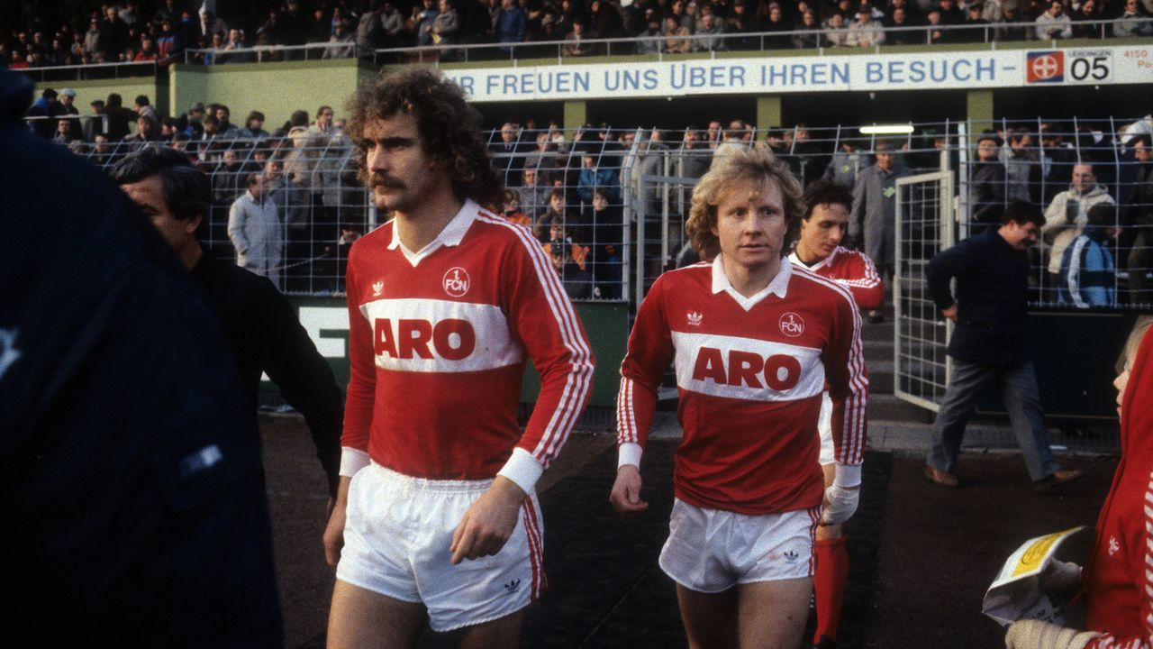 Platz 6 - 1. FC Nürnberg (1983/84, 20 Punkte, 38:85 Tore) - Bildquelle: Imago