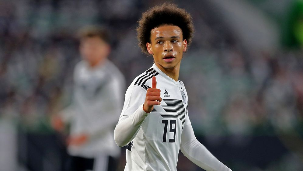 Leroy Sane soll den nächsten Schritt im DFB-Team machen. - Bildquelle: Getty