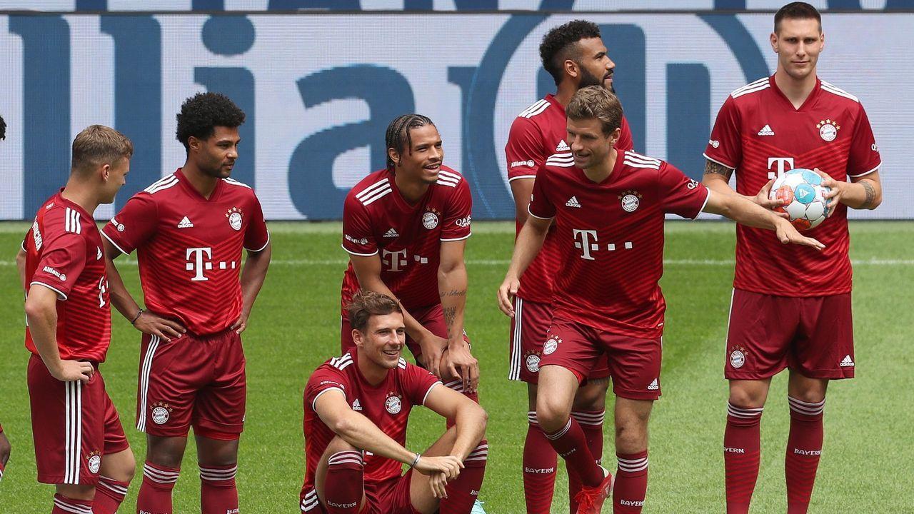 Platzt 2: FC Bayern München - Bildquelle: Getty