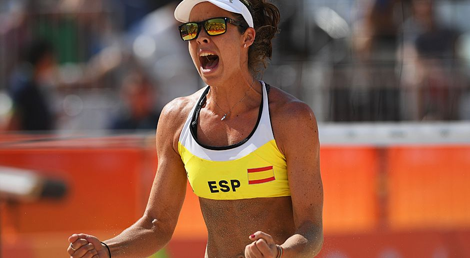 Elsa Baquerizo Macmillan (Beachvolleyball/Spanien) - Bildquelle: 2016 Getty Images