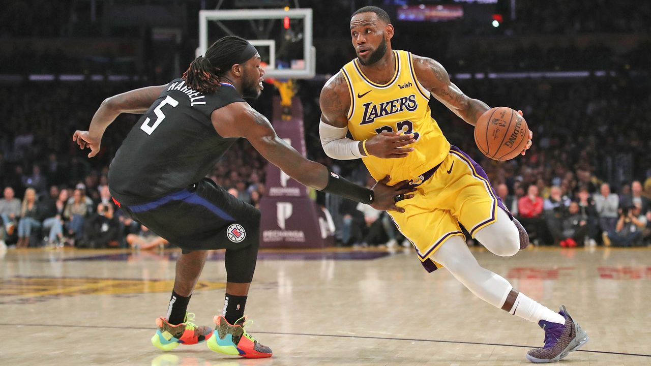 LeBron James (Los Angeles Lakers) - Bildquelle: 2019 Getty Images