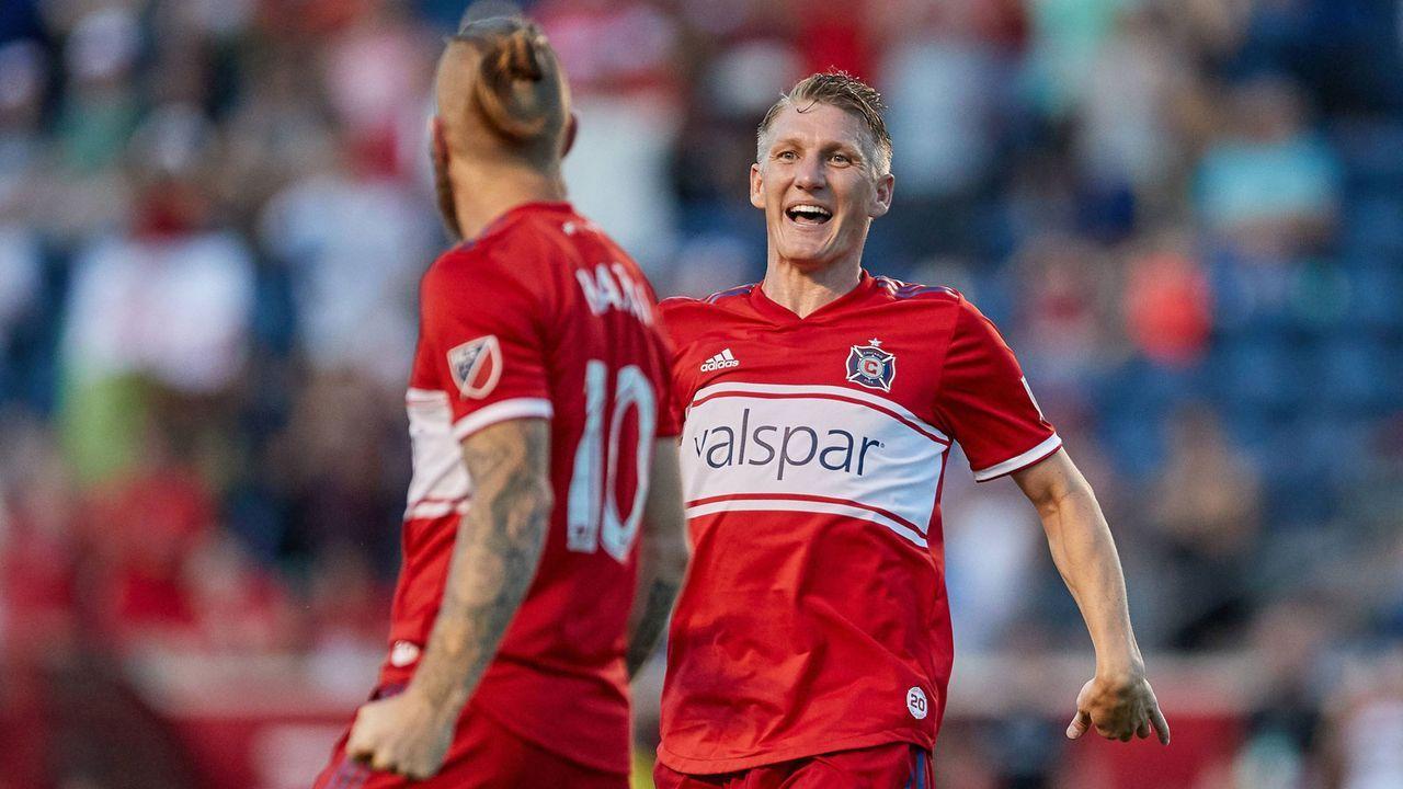 Platz 5: Bastian Schweinsteiger (Chicago Fire/Fußball)  - Bildquelle: imago