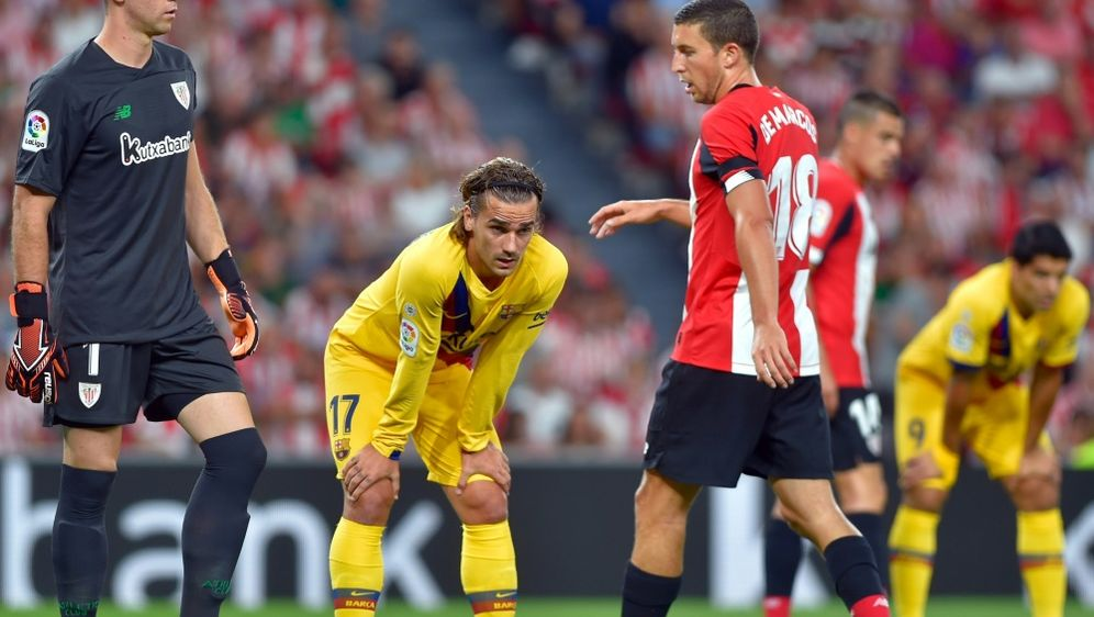Der FC Barcelona patzt gegen Athletic Bilbao - Bildquelle: AFPSIDANDER GILLENEA