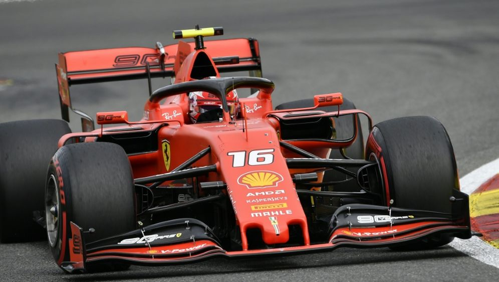 Leclerc feierte in Spa seinen ersten Formel-1-Sieg - Bildquelle: AFPSIDJOHN THYS