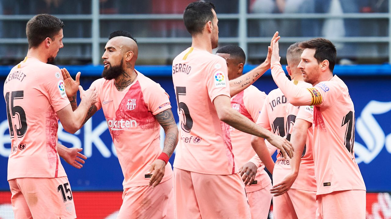 FC Barcelona - Bildquelle: 2019 Getty Images