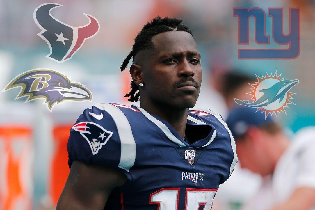 Texans, Ravens und Co.: Die Optionen für Antonio Brown nach Ablauf seiner Sperre  - Bildquelle: getty images