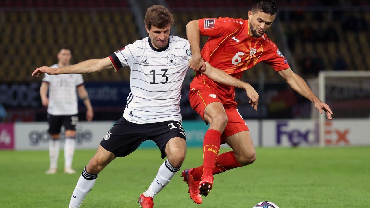 WM-Ticket gelöst: Deutschland beim 4:0 in Nordmazedonien in der Einzelkritik - Bildquelle: Getty Images