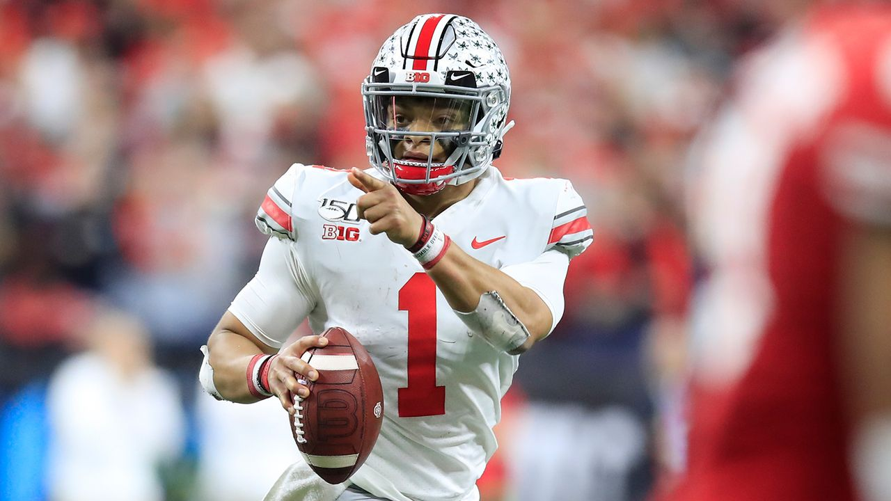 Justin Fields, Quarterback, Ohio State - Bildquelle: Getty Images