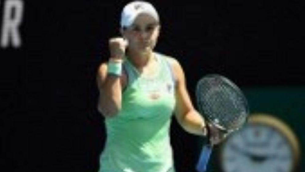 Ashleigh Barty steht in Melbourne im Halbfinale. - Bildquelle: AFP