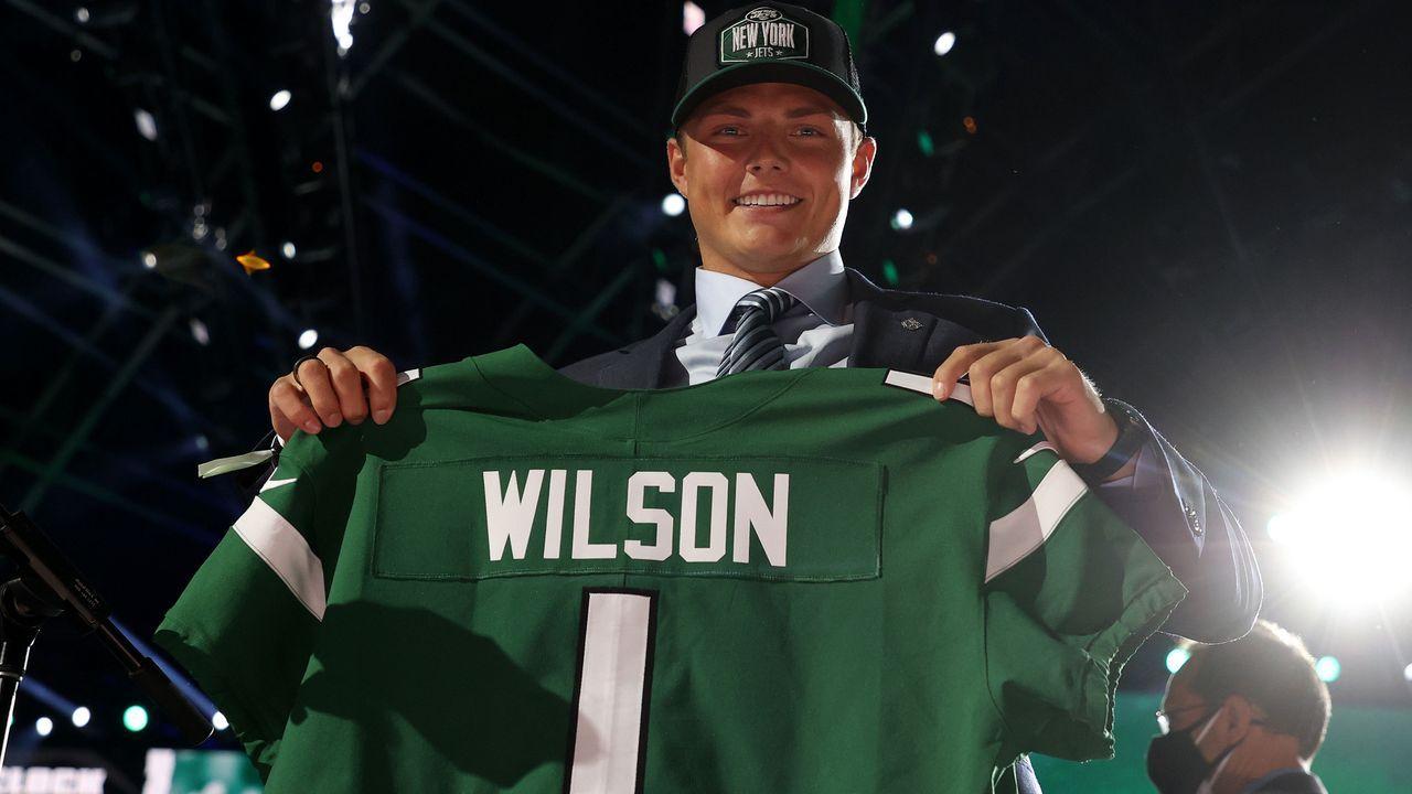 2. Pick - Zach Wilson (Quarterback, New York Jets) - Bildquelle: 2021 Getty Images