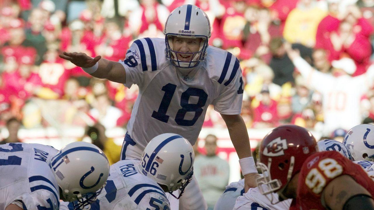 9. Indianapolis Colts 2004 - Bildquelle: Getty