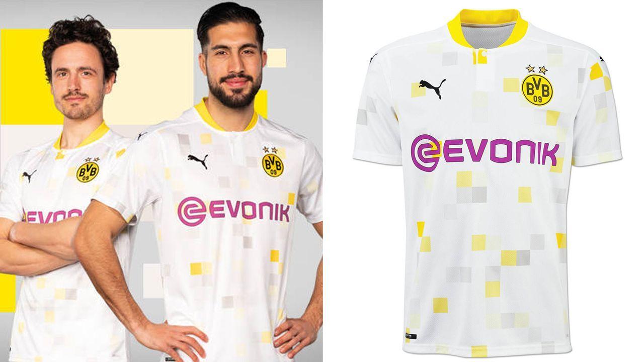 Borussia Dortmund (Cuptrikot 2020/21) - Bildquelle: twitter.com/BVBBuzz/shop.bvb.de