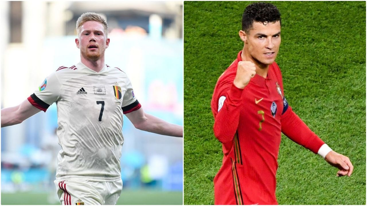 Belgien vs. Portugal - Bildquelle: Getty Images/Imago Images