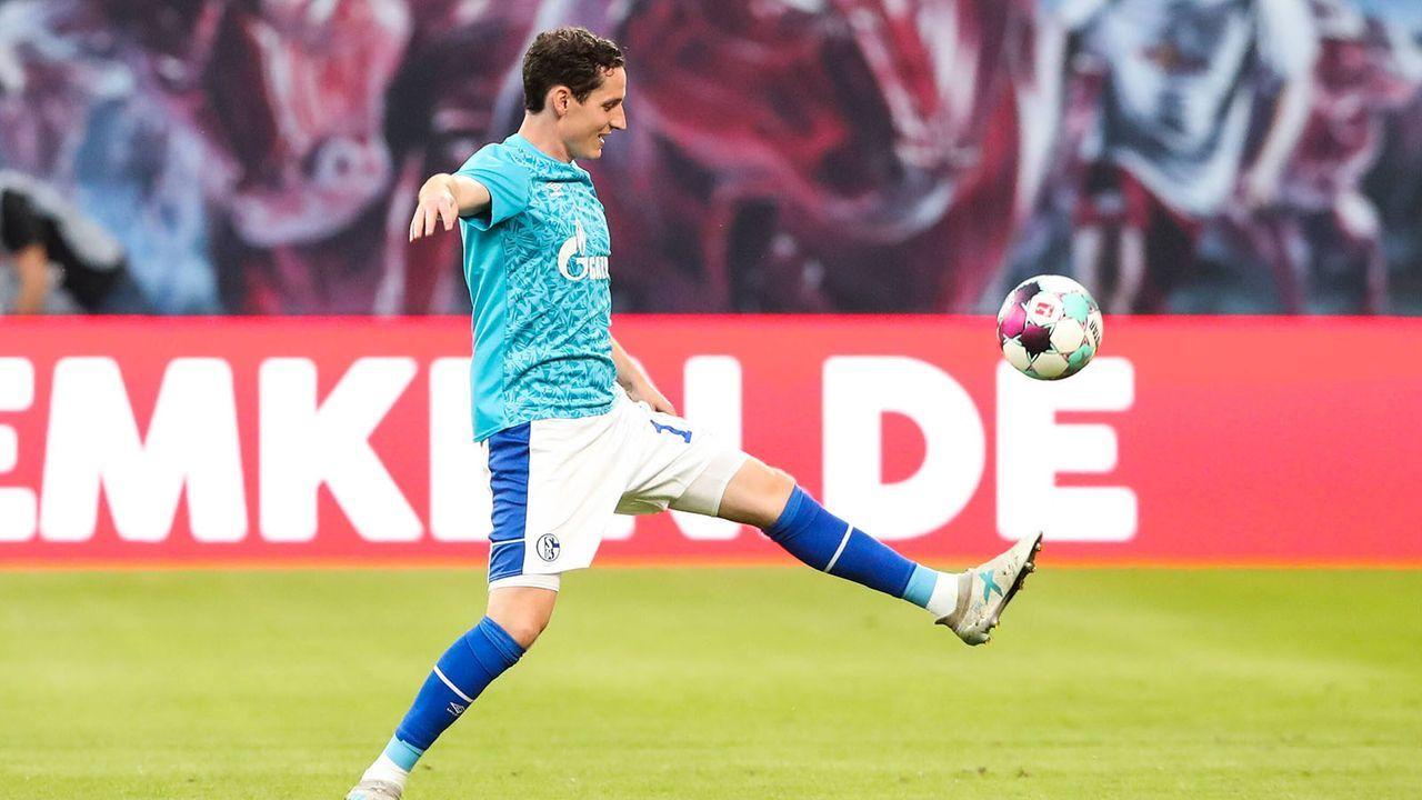 Sebastian Rudy, Ozan Kabak und Rabbi Matondo (FC Schalke 04) - Bildquelle: imago images/Christian Schroedter