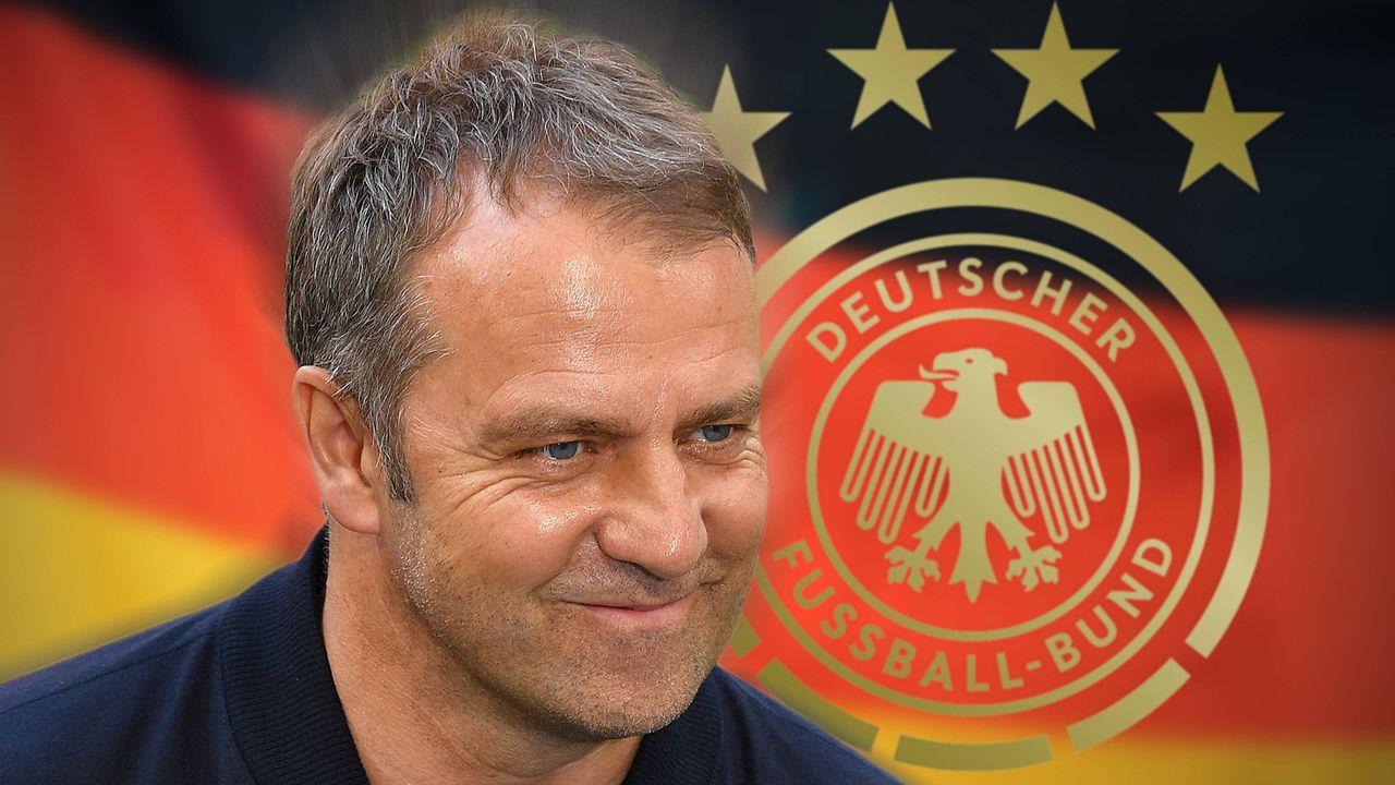 Das Team um Bundestrainer Hansi Flick - Bildquelle: imago