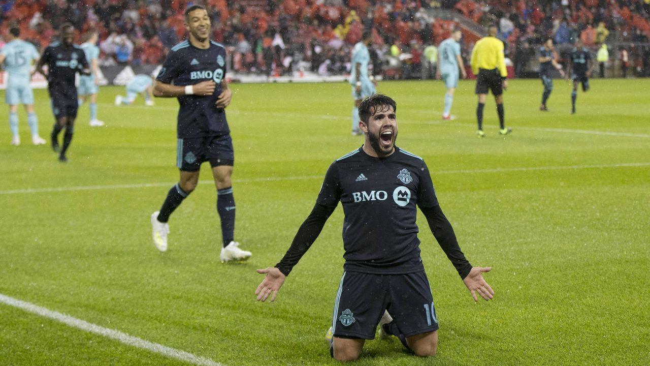 Platz 8: Alejandro Pozuelo Melero (Toronto FC) - Bildquelle: imago images / Xinhua