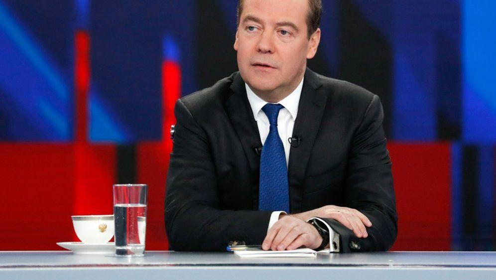 Medwedew empfindet die Strafe der WADA als Hysterie - Bildquelle: AFPSIDDMITRY ASTAKHOV