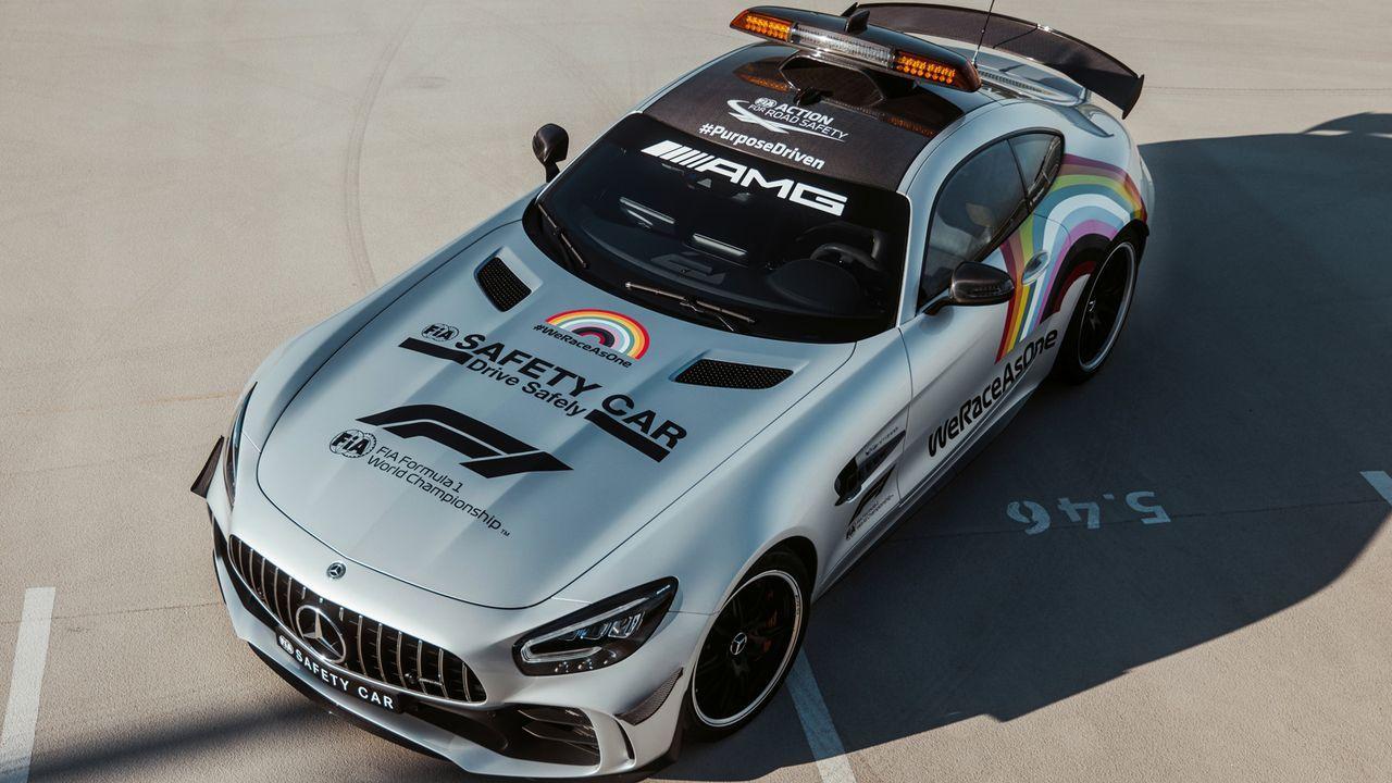 Safety Car 2020 - Bildquelle: twitter.com/MercedesAMGF1