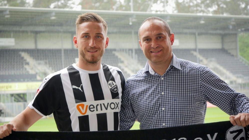 Zweitligist Sandhausen hat Robin Scheu (l.) verpflichtet - Bildquelle: SV SandhausenSV SandhausenSID
