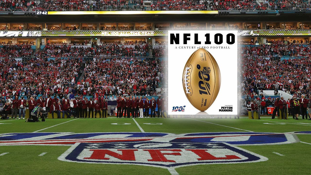 Buch: NFL: 100 Years: A Centery of Pro Football - Bildquelle: Amazon/NFL: 100 Years: A Centery of Pro Football
