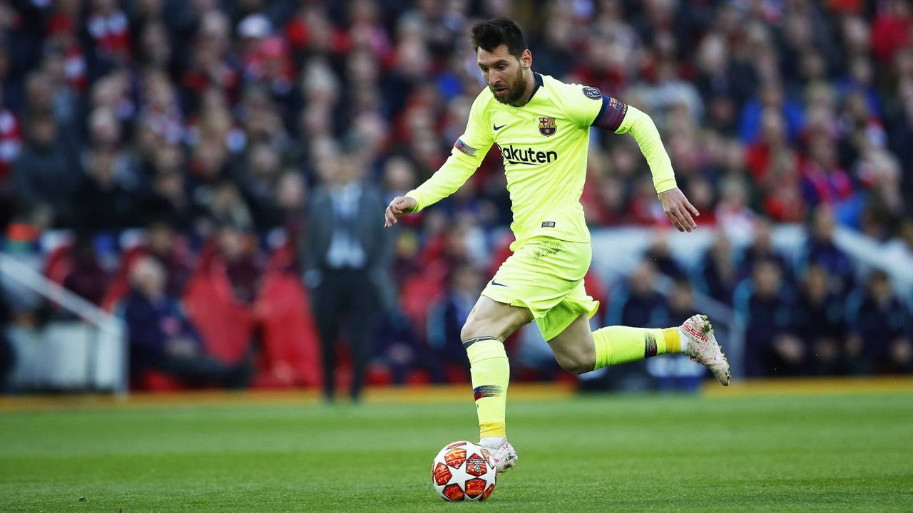 2. Lionel Messi (FC Barcelona) - Bildquelle: 2019 imago