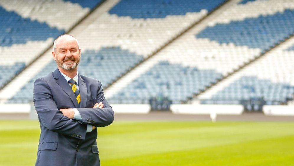 Schottlands Cheftrainer Steve Clarke - Bildquelle: FIROFIROSID