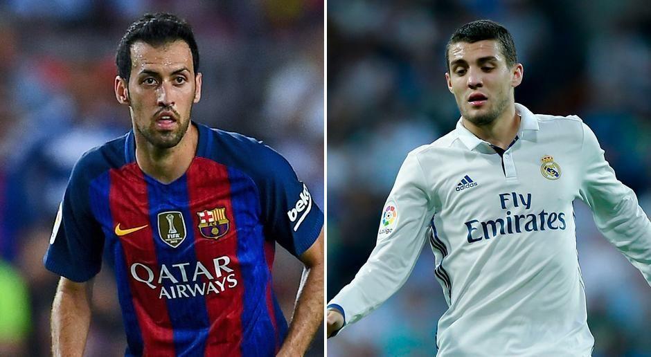 Sergio Busquets vs. Mateo Kovacic - Bildquelle: getty images