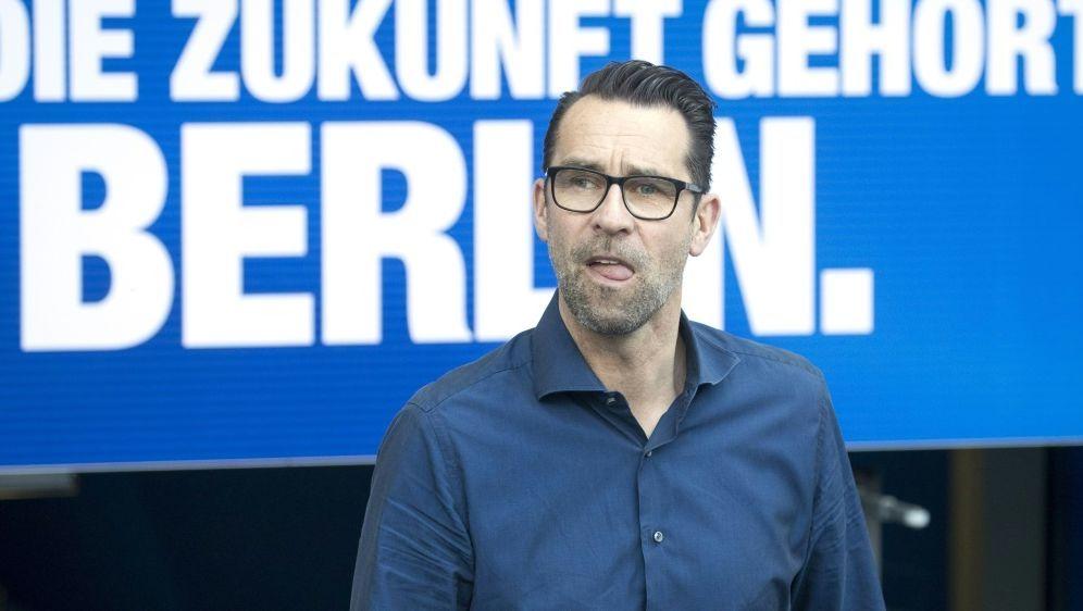 Berlins Manager Preetz zieht Sturmtalent an Land - Bildquelle: AFPSIDODD ANDERSEN