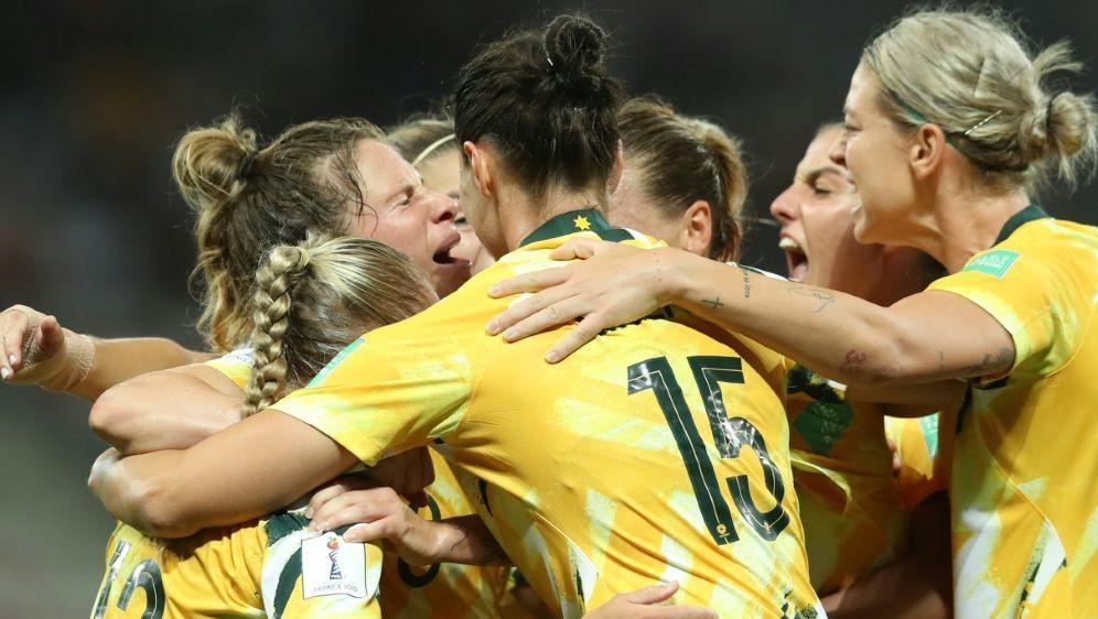 Die Australierinnen sind Co-Gastgeberinnen der WM 2023 - Bildquelle: AFPSIDVALERY HACHE