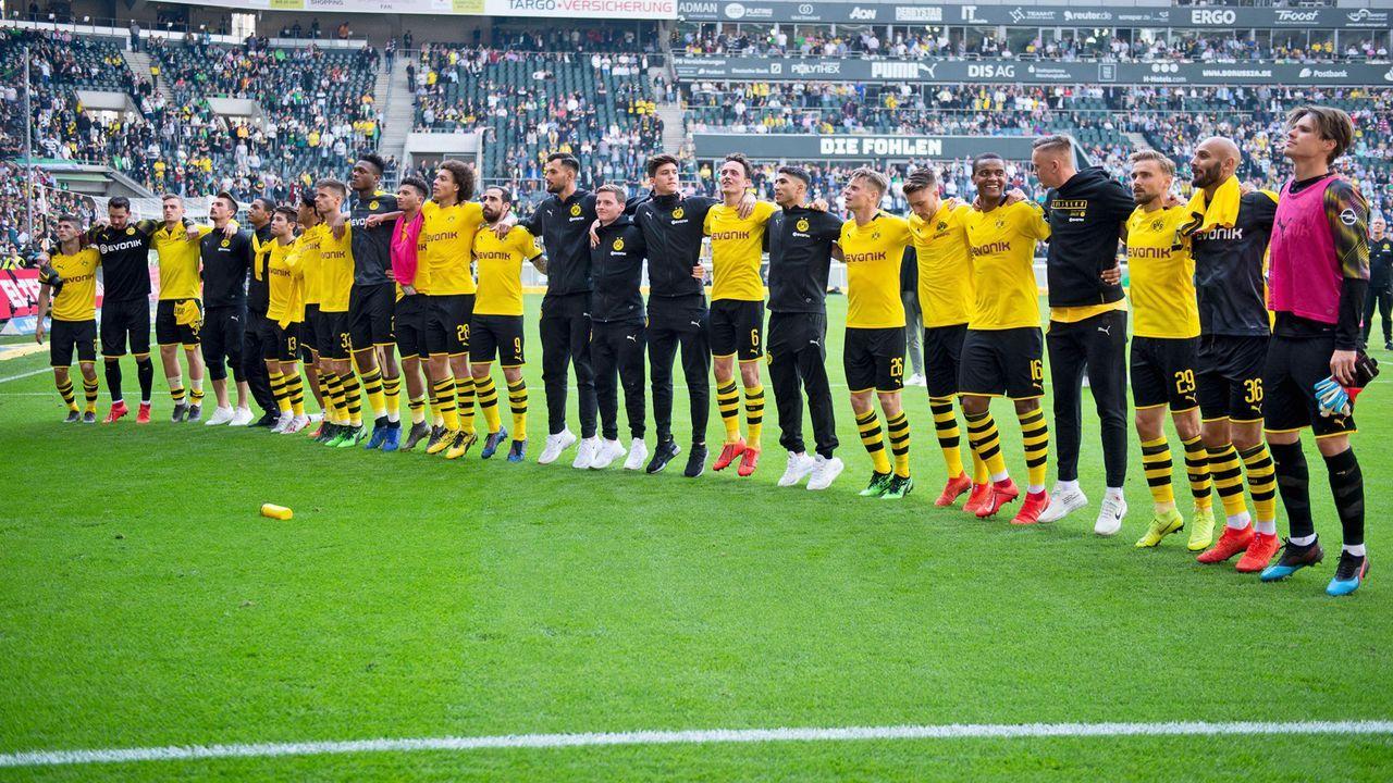 Platz 2: Borussia Dortmund - Bildquelle: imago images / Revierfoto