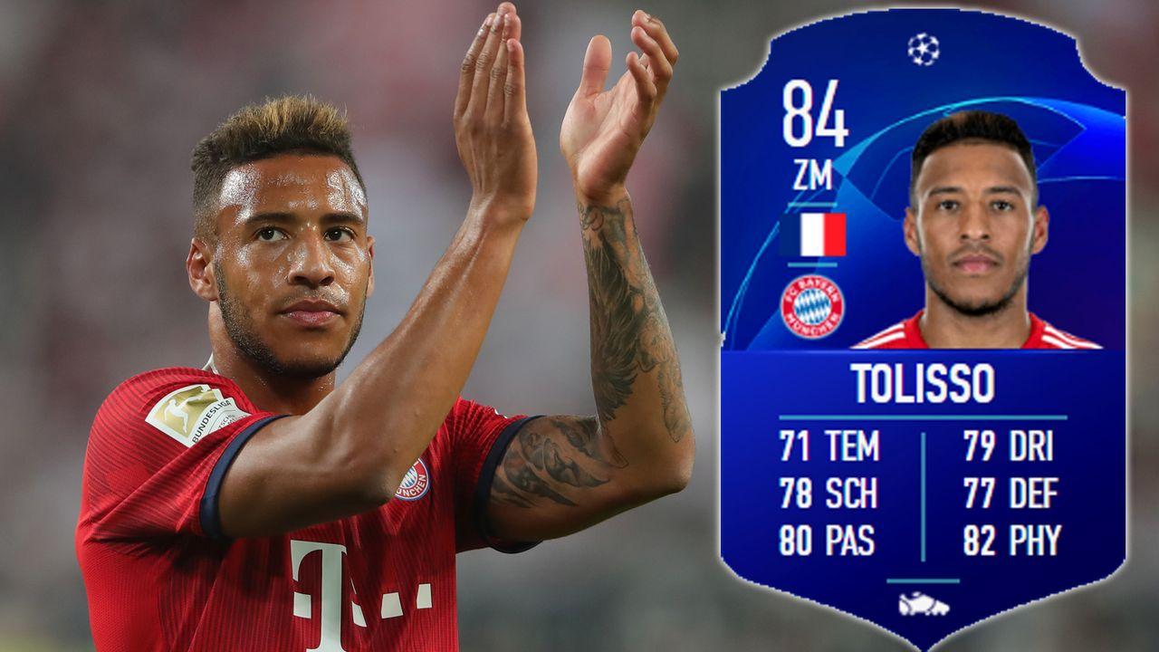 Offensives Mittelfeld: Corentin-Tolisso - Bildquelle: 2018 Getty Images/EA Sports