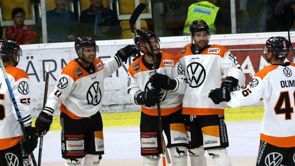 Eishockey: Die Grizzlys Wolfsburg siegen in Nürnberg 4:2 - Bildquelle: PIXATHLONPIXATHLONSID
