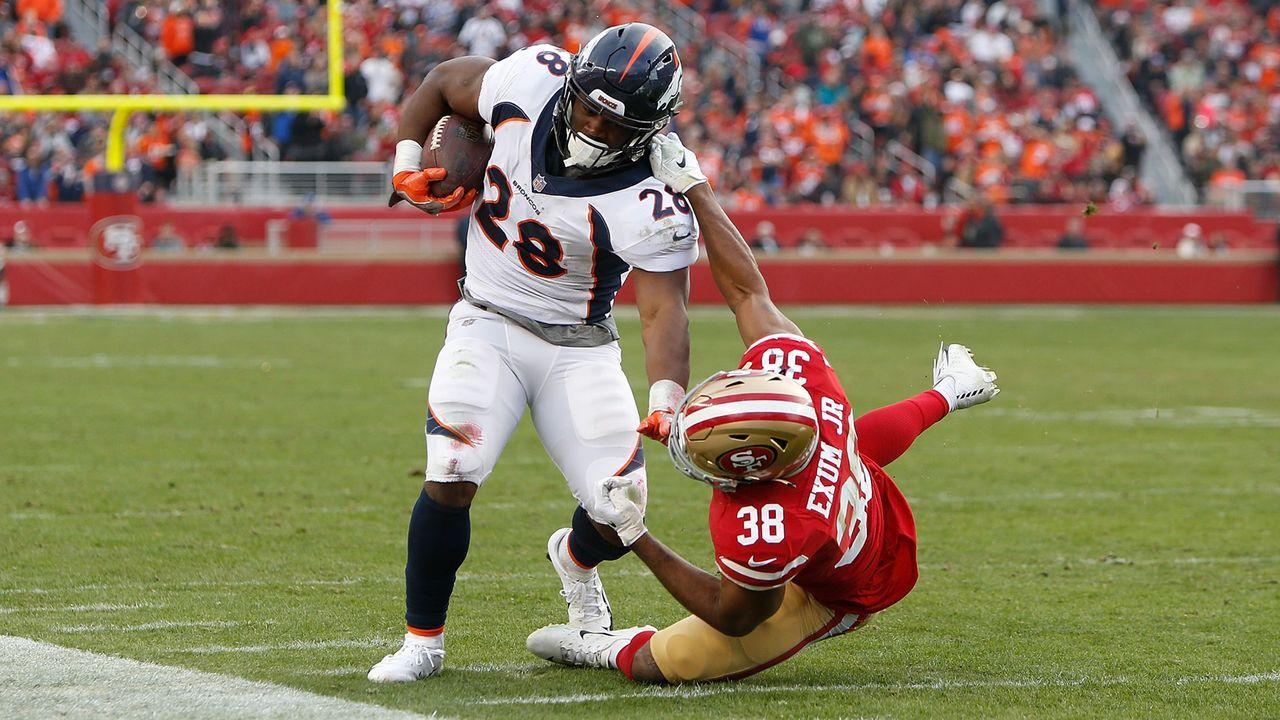 49ers at Broncos - Bildquelle: 2018 Getty Images