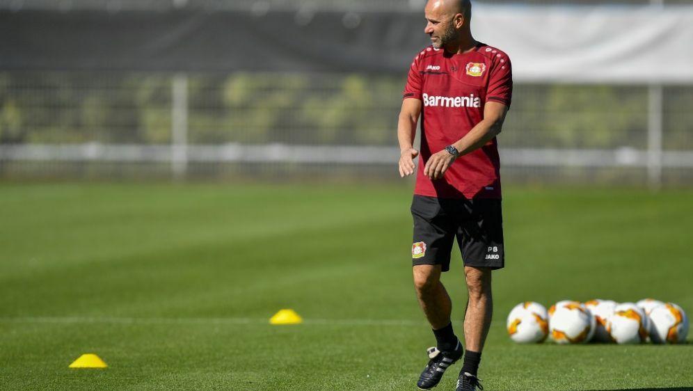 Bayer-Trainer Bosz erwartet gegen Glasgow viel Arbeit - Bildquelle: POOLAFPSIDMARTIN MEISSNER
