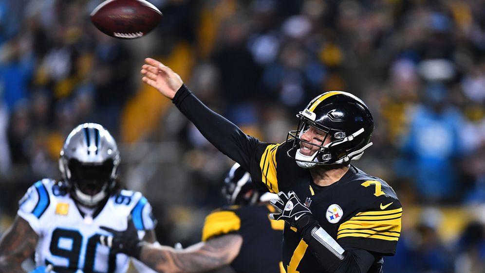 Ben Roethlisberger warf gegen die Panthers mehr Touhdowns als Incompletions. - Bildquelle: 2018 Getty Images
