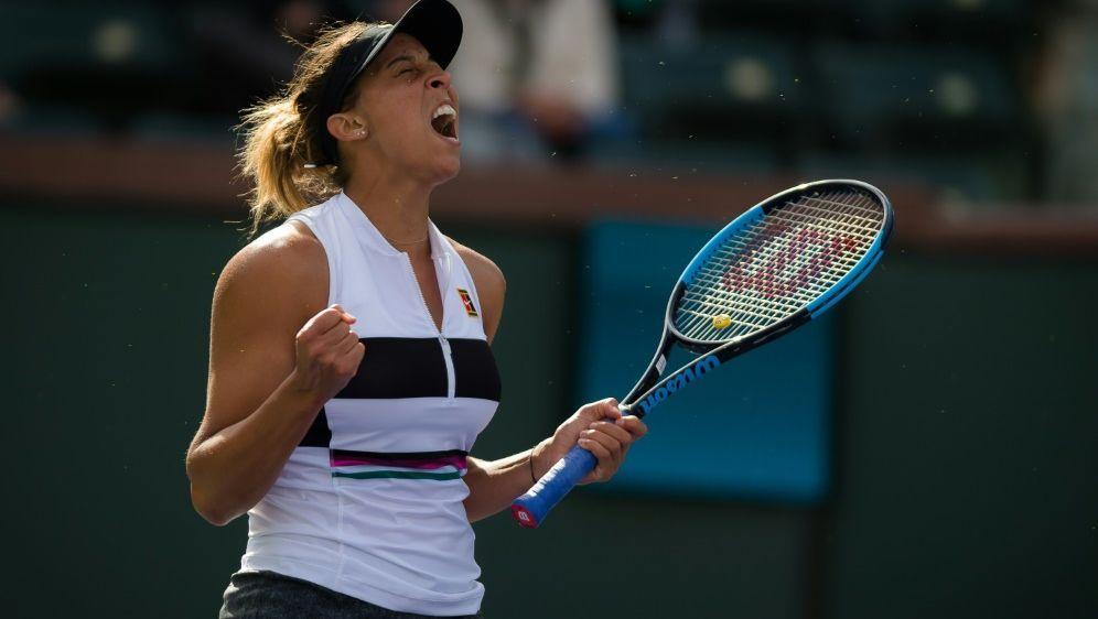 Madison Keys gewinnt das WTA-Turnier in Charleston - Bildquelle: PIXATHLONPIXATHLONSID