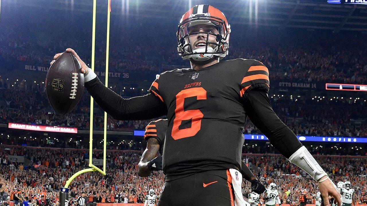 Baker Mayfield (1. Pick, Cleveland Browns) - Bildquelle: Getty Images