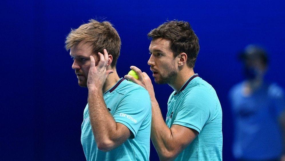 Die French-Open-Sieger verpassen das Halbfinale - Bildquelle: AFPSIDGLYN KIRK